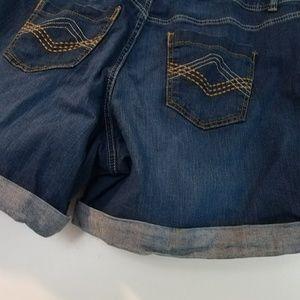 Lane Bryant Shorts - 20 Lane Bryant Cuffed Denim Shorts - Jean Shorts